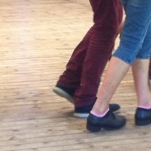 Tanzende.. wohin man blickt :)