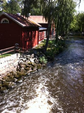 Der Platz mit den alten, schwedischen Häusern ist auch sehr schön.