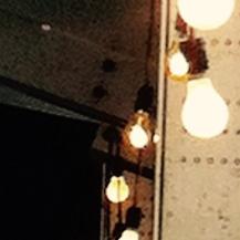 Lichterketten überall ..