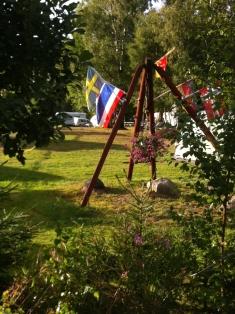 Der Zeltplatz ist ein Naturcamping-Platz