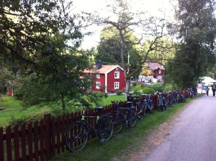.. alles sieht typisch schwedisch aus.