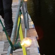.. auch auf den Brücken