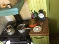 In der Küche wird gekocht.