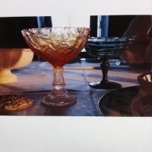 Schlossimpressionen Glas aus Zucker gestaltet