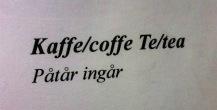 Wichtige Vokabel für Kaffee: Nachfüllen erlaubt