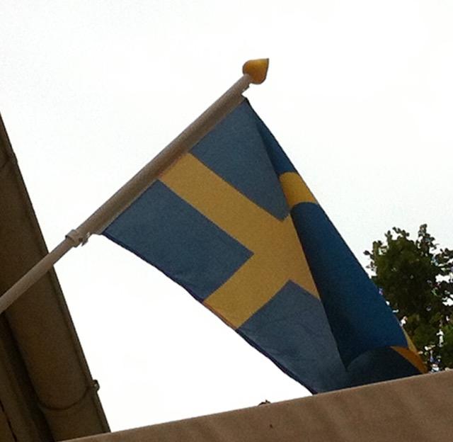 auch in Schweden sind Mittelalterbegeisterte weit verbreitet!