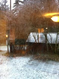 Winterzeit entsprungenem Heim und erste ..