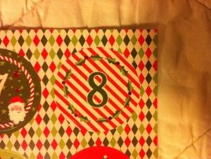 Weihnachtstürchen 8